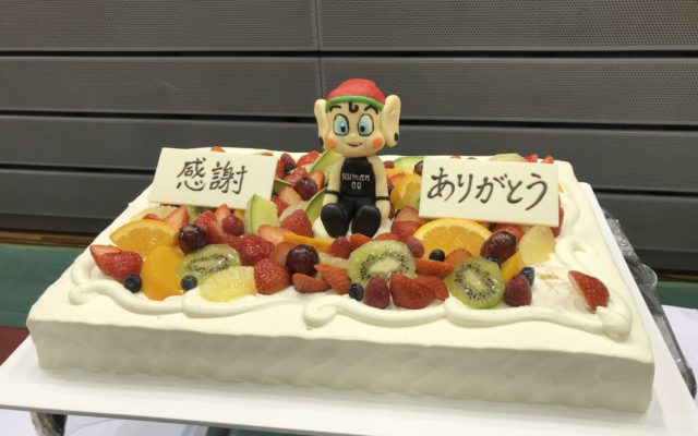 大阪エヴェッサのスポンサーパーティにご招待頂きました。