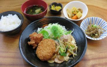牛肉と玉ねぎ炒定食