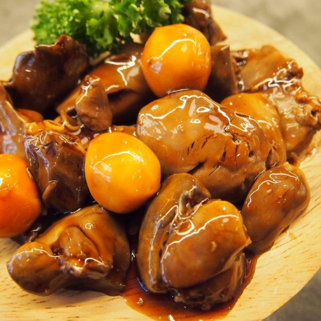 株式会社マザーフーズの商品紹介・国産鶏のもつ煮